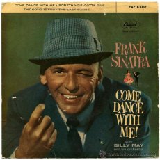 Discos de vinilo: FRANK SINATRA CON BILLY MAY ORQ. - COME DANCE WITH ME! - EP SPAIN 1959 - CAPITOL EAP 1-1069. Lote 43557499