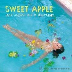 Discos de vinilo: SWEET APPLE-THE GOLDEN AGE OF GLITTER, GREEN , LP, ALBUM,. Lote 43557980