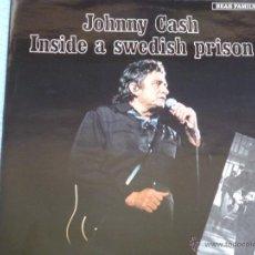 Vinyl records - johnny cash,inside a swedish prision edicion holland del 82 - 43560300