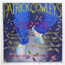 Discos de vinilo: PATRICK COWLEY - 'THE GREATEST HITS DANCE PARTY' (LP VINILO). Lote 43560559