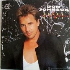 Discos de vinilo: DON JOHNSON - HEART BEAT {MAXI SINGLE 45 RPM} (SPAIN). Lote 43562620