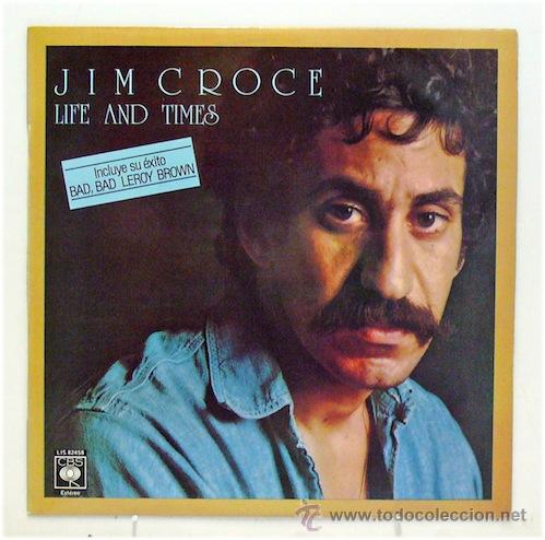 JIM CROCE - 'LIFE AND TIMES' (LP VINILO) (Música - Discos de Vinilo - Maxi Singles - Country y Folk)