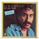 Discos de vinilo: JIM CROCE - 'LIFE AND TIMES' (LP VINILO). Lote 43562900