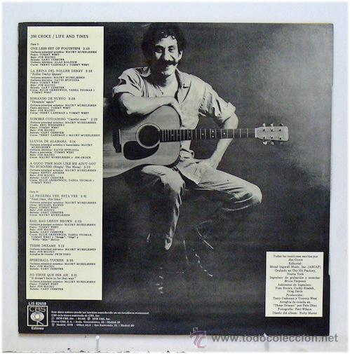 Discos de vinilo: Jim Croce - Life And Times (LP Vinilo) - Foto 2 - 43562900
