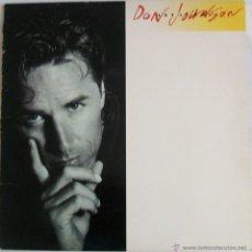 Discos de vinilo: DON JOHNSON - LET IT ROLL {LP} (SPAIN). Lote 43563801