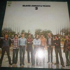 Discos de vinilo: BLOOD, SWEAT & TEARS - 3 LP - ORIGINAL U.S.A. - COLUMBIA 1970 - GATEFOLD COVER - STEREO -. Lote 43563946