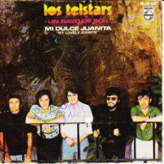 Discos de vinilo: LOS TELSTARS - UN RAYO DE SOL - MI DULCE JUANITA ( MY LOVELY JUANITA ) SG SPAIN 1970 EX / EX. Lote 43568612