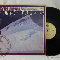 Discos de vinilo: DISCO LP VINILO - ELVIN JONES. SKYSCRAPERS. VOL. 4 - 1977 - HONEY DEW - USA. Lote 43577669