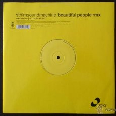 Discos de vinilo: JAVI MULA - STHLMSOUNDMACHINE - BEAUTIFUL PEOPLE REMIX - VINILO - VENDETTA - 2003. Lote 43584803
