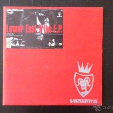 Discos de vinilo: STEPHAN MANDRAX - LOWER EAST TRIBE EP - MOUSSE T - VINILO - VENDETTA. Lote 43585292