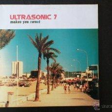 Discos de vinilo: ULTRASONIC 7 - MAKES YOU SWEAT - DOBLE VINILO - 2004. Lote 43585419