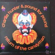 Discos de vinilo: CHARLIE HUNTER & POUND FOR POUND - RETURN OF THE CANDYMAN - LP VINILO - 1998. Lote 43585637