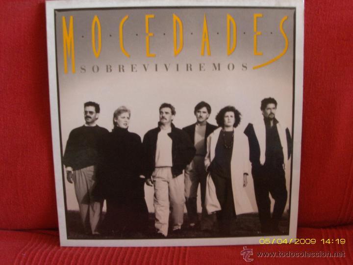 MOCEDADES -SOBREVIVIREMOS- (Música - Discos de Vinilo - EPs - Grupos Españoles de los 70 y 80)