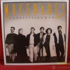 Discos de vinilo: MOCEDADES -SOBREVIVIREMOS-. Lote 43586880