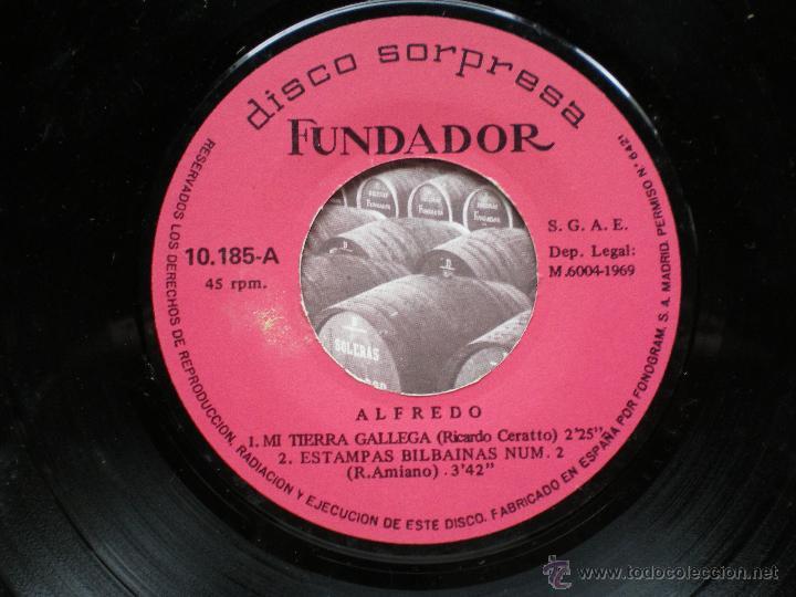 Discos de vinilo: EP FUNDADOR /ALFREDO /VER FOTO ADICIONAL - Foto 2 - 43591390