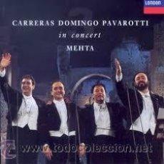 Discos de vinilo: CARRERAS DOMINGO PAVAROTTI EN CONCIERTO. Lote 43595301