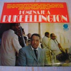 Discos de vinilo: HOMENAJE A DUKE ELLINGTON. Lote 43595468