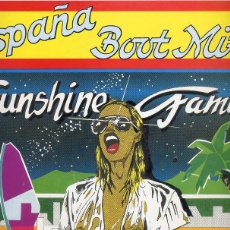 Discos de vinilo: ESPAÑA BOOT MIX VOL 1 / SUNSHINE FAMILY (ZYX RECORDS 1987). Lote 43598812