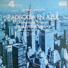 Discos de vinilo: RAPSODIA EN AZUL GEORGES GERSHWIN. Lote 43599991
