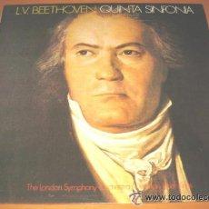 Discos de vinilo: QUINTA SINFONIA BEETHOVEN EDICION COMPLETA. Lote 43600795