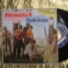 Discos de vinilo: FORMULA V - CENICIENTA / AHORA ESTOY ENAMORADO. Lote 34109486