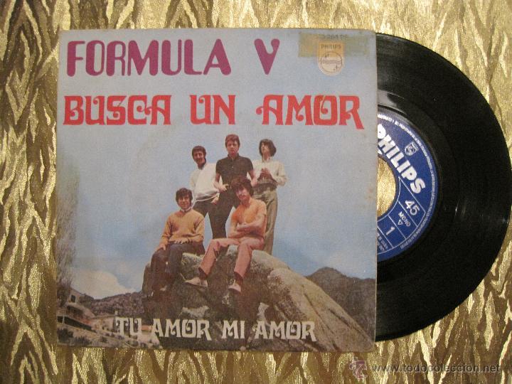 FORMULA V - BUSCA UN AMOR / TU AMOR MI AMOR (Música - Discos - Singles Vinilo - Grupos Españoles de los 70 y 80)