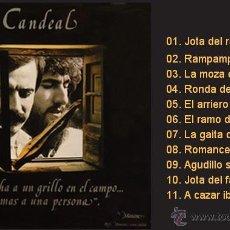 Discos de vinilo: CANDEAL / SE ESCUCHA A UN GRILLO EN EL CAMPO... LP DE VINILO NUEVO (MANCERA, 1982) FOLK CASTELLANO. Lote 43602183