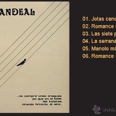 Discos de vinilo: CANDEAL / TE COMPRÉ UNAS ENAGUAS... LP DE VINILO NUEVO (MANCERA, 1985) FOLK DE CASTILLA-LEÓN. Lote 43602194