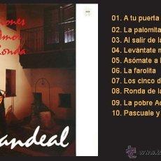 Discos de vinilo: CANDEAL / CANCIONES DE AMOR Y RONDA - LP DE VINILO NUEVO (SAGA, 1990) FOLK DE CASTILLA-LEÓN. Lote 43602261