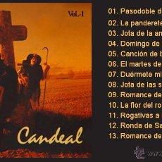 Discos de vinilo: CANDEAL / POR EL CAMINO DE SANTIAGO, VOLUMEN 1 - LP DE VINILO NUEVO (SEVERAL, 1991) FOLK CASTELLANO. Lote 43602287
