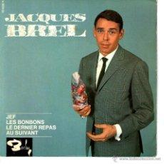 Discos de vinilo: JACQUES BREL JEF. Lote 43602846