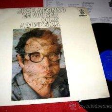 Discos de vinilo: JOSÉ AFONSO / EU VOU SER COMO A TOUPEIRA (1972) - LP VINILO NUEVO EDICIÓN ESPAÑOLA (HISPAVOX, 1976). Lote 43603606