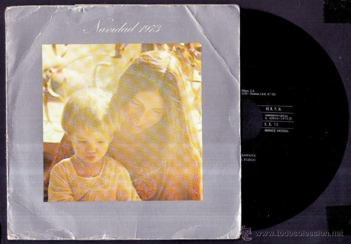 VILLANCICOS - CORAL SANT JORDI - NAVIDAD - SPAIN EP EDIGSA 1973 - BARCELONA (Música - Discos de Vinilo - EPs - Música Infantil)