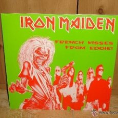 Discos de vinilo: IRON MAIDEN FRENCH KISSES FRON EDDIE LP. Lote 43607955