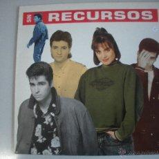 Discos de vinilo: MAGNIFICO LP DE - SIN RECURSOS -. Lote 43608811