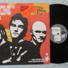 Discos de vinilo: EIFFEL 65 UNA NOTTE E FORSE MAI PIU MAXI SINGLE 2003. Lote 43609656
