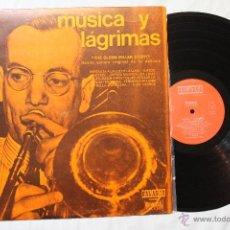 Discos de vinilo: GLENN MILLER MUSICA Y LAGRIMAS LP VINILO EDICION CIRCULO LECTORES SPAIN 1970. Lote 43610512