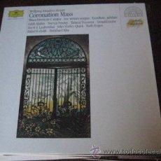Discos de vinilo: CORONATION MASS MOZART. Lote 43611333