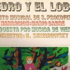 Discos de vinilo: PEDRO Y EL LOBO ORQUESTA PRO MUSICA DE VIENA. Lote 43612147