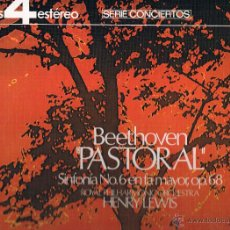 Discos de vinilo: BEETHOVEN PASTORAL SINFONIA Nº 6 EN FA MAYOR OP. 68. Lote 43612391