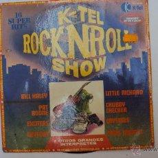 Discos de vinilo: LP DISCO VINILO K-TEL ROCK N ROLL SHOW. Lote 43612606
