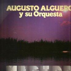 Discos de vinilo: LP AUGUSTO ALGUERO Y SU ORQUESTA : MAGICO SONIDO ( GRAN PREMIO, CHERIE BABETTE, ROAD TO MARBELLA ). Lote 43613189