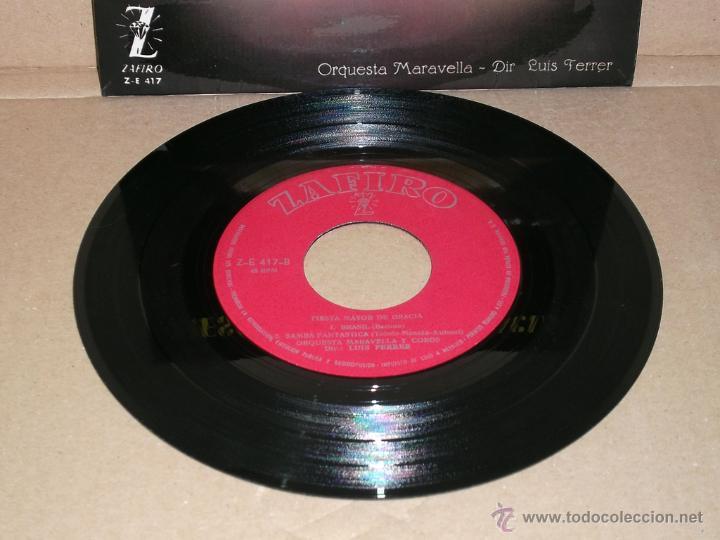 Discos de vinilo: Fiesta Mayor de Gracia - Orquesta Maravella y Coros. Dir. Luis Ferrer (1962) - Foto 3 - 43613239