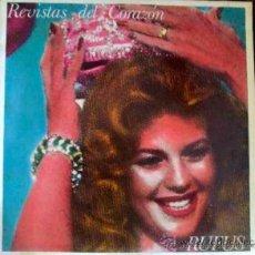 Discos de vinilo: RUFUS, REVISTAS DEL CORAZÓN. LP. Lote 33218352