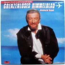 Discos de vinilo: JAMES LAST - GRENZENLOSES HIMMELBLAU - LP POLYDOR 1985 ALEMANIA BPY. Lote 43614073
