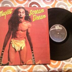 Discos de vinilo: TED NUGENT - SCREAM DREAM (LP, ALBUM) EDICION COLOMBIANA . Lote 43624692