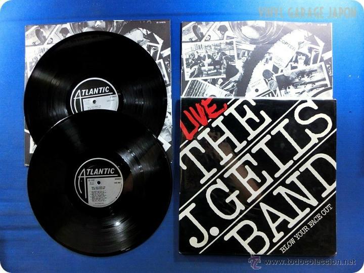 J. GEILS BAND / BLOW YOUR FACE OUT 76, DOBLE LP, BLUES ROCK, COMPLETA 1ª EDIC USA + ENCARTES, IMPECA (Música - Discos de Vinilo - EPs - Pop - Rock Extranjero de los 70)