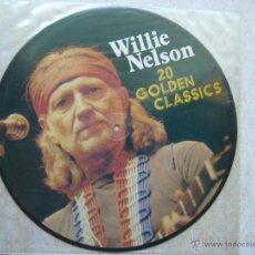 Discos de vinilo: WILLIE NELSON - 20 GOLDEN CLASSICS - LP. Lote 43629601