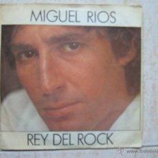 Discos de vinilo: MIGUEL RIOS - REY DEL ROCK. Lote 43629916