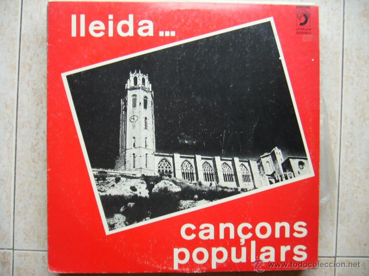 LLEIDA - CANÇONS POPULARS (Música - Discos - LP Vinilo - Cantautores Españoles)